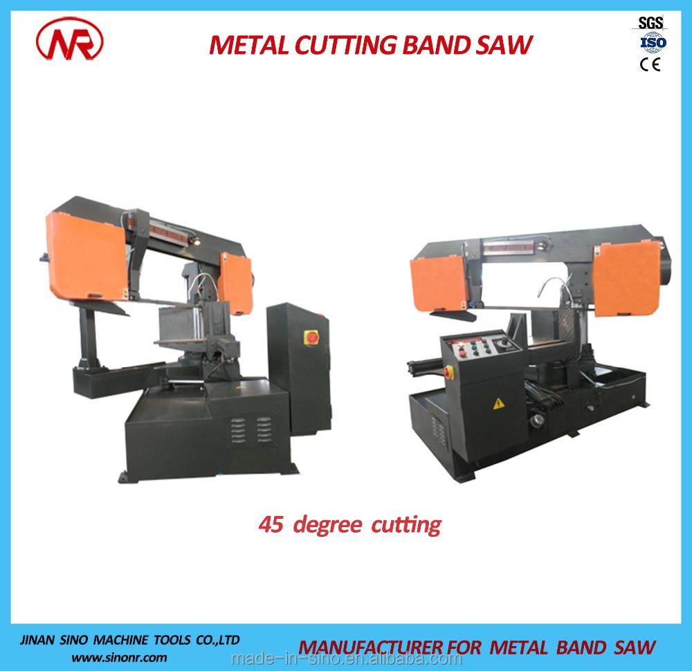 Double-column Angel Cutting Band Saw Machine Miter Saw G-400