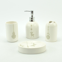 Fashion White And Blue Ceramic Home