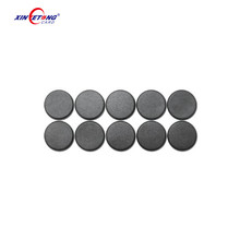 Type 2 Circle 22mm N-tag213 NFC Black PPS Laundry Tag