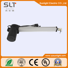 Induction Linear motor with permanent magnet for Solar Panels and Gear box