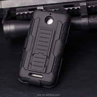 Armor Hybrid Triple Full Capa Military 3in1 Defender Combo phone Case For htc desire 510 Stand Kickstand Cover
