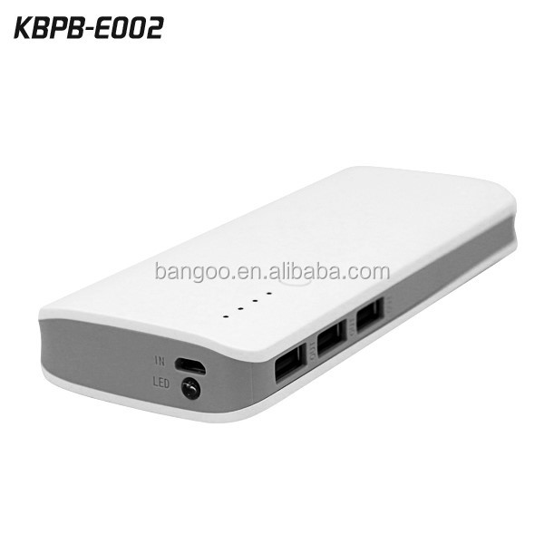 20000 mAh 3USB Mobile Extra Power Bank Station 20000 mAh Quick Speed Charger