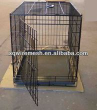 metal folding dog crate (with detailed picture)