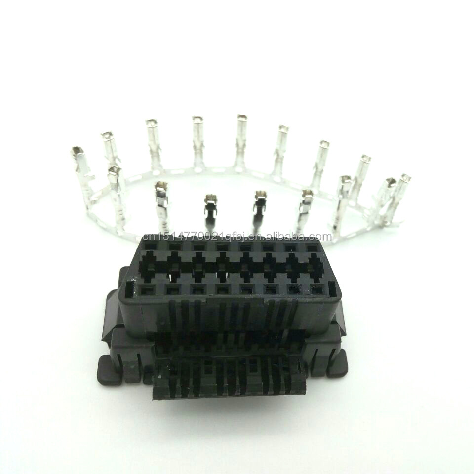 OBD2 16Pin Female Connector OBD2 16Pin Female Wire Socket Female Plug with 16 Pin Terminal