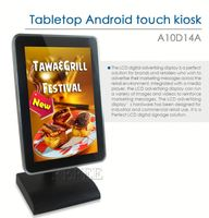 New Arrival,10 inch Tabletop Android ad player,retail clothing display table