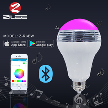 9w led lamp, h3 6v led bulb bluetooth light, app controlled led bulb