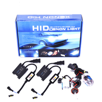 Car Light Super bright 35w 55w AC xenon hid kit slim ballast h1 h3 h4 h7 h8 h11 h27 9004 9005