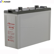 valve regulated solar gel Battery 2V 1000Ah for ups/telecom