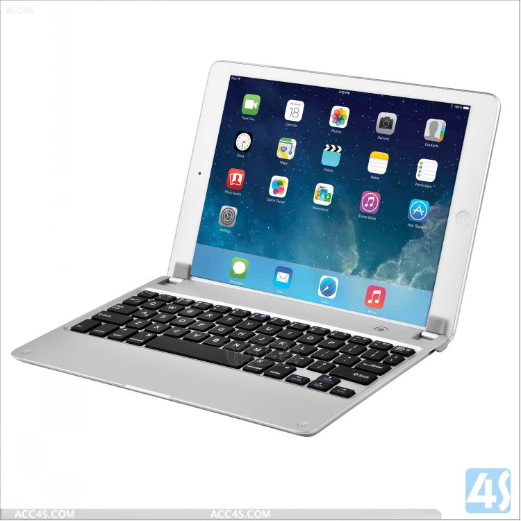 Bluetooth Mobile Aluminum Case Keyboard for iPad Air 5 P-APPIPD5PUKB007