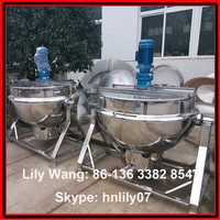 industrial cooking kettle wioth gas burner (Skype: hnlily07)
