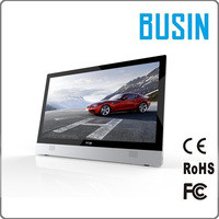 High speed 21.5 inch 1080p 4GB RAM 64G SSD 500 HDD desktop computer all in one pc with ce certificate