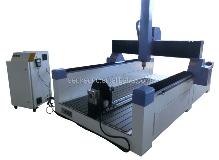 Rotary device 4 axis wood chairs,sculpture engraving cutting cnc router machine
