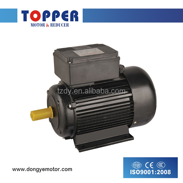 Capacitor Run Single Phase Electric AC Motors With Aluminium Housing