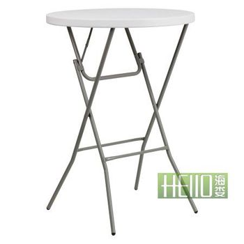 HL-Y81 plastic bar table/ bar table and chairs/ folding high bar tables