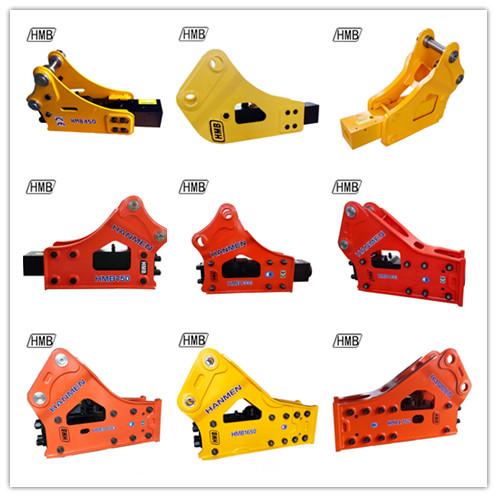excavator hydraulic breaker/rock hammer 68mm chisel