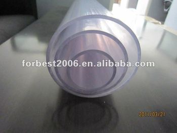 Transparent hard PVC tube for water