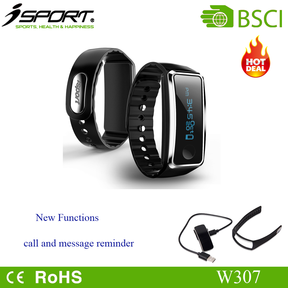 bluetooth devices fitness activity tracker silicon wristband