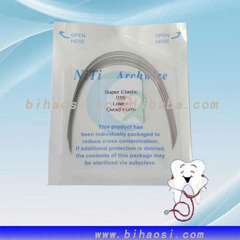 dental stainless steel niti archwire