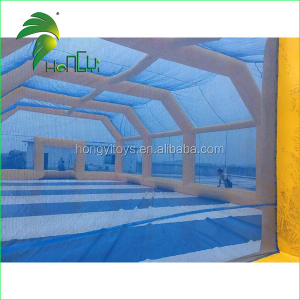 Hongyi new design giant inflatable paintball tent
