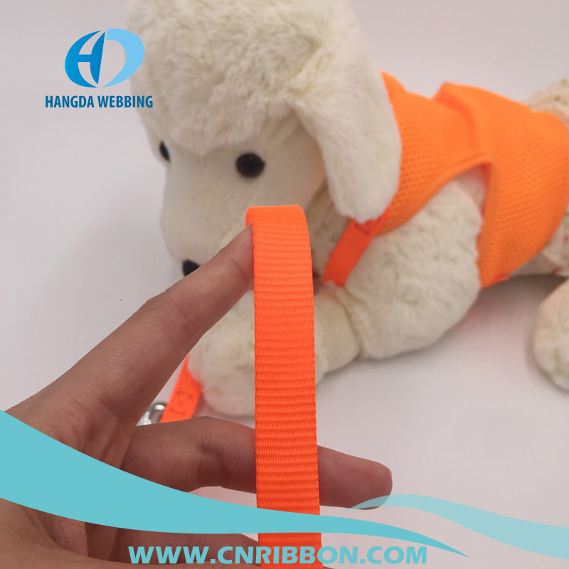 factory price plain nylon pet belt dog collar and leash