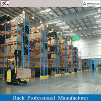 Reduce warehouse set up costs,selective pallet racking