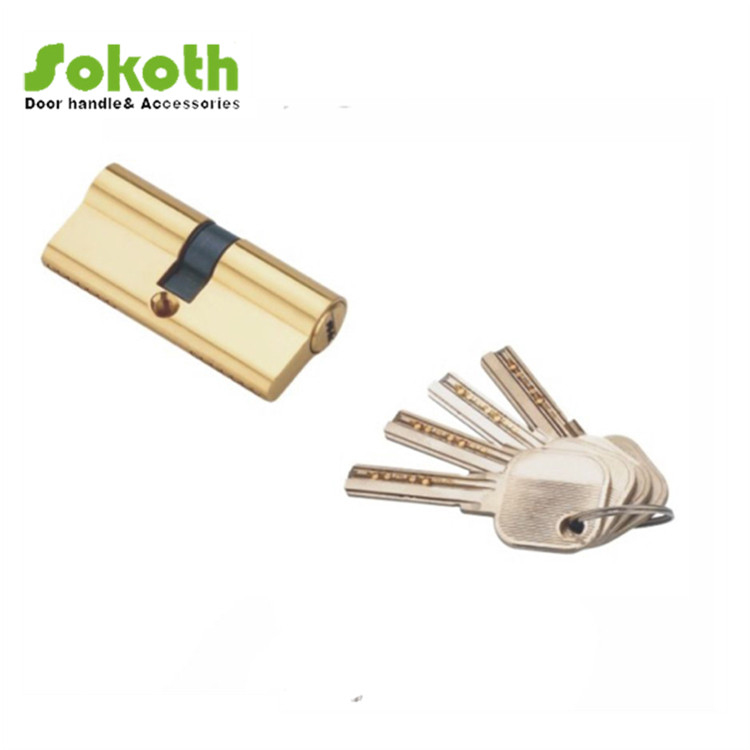 Double open cylinder key design for middle east with best quality