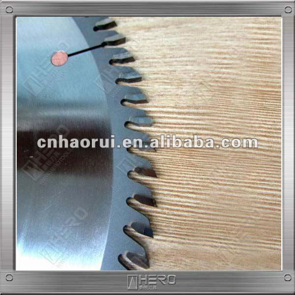 Power saw blade for MDF