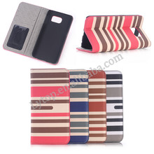 Gold Supplier Fashionable Stripe Mobile Phone Case for Samsung S6, For Samsung S6 Case