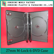 Best Selling Eco-friend Plastic DVD Case With M-Lock Hub