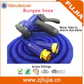 Tall-Top garden hose 25/50/75/100/150FT customized water garden flexible bungee hose with brass