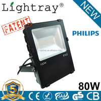 Top Quality 105LM/W Project led flood light with philips led flood light 5 Years Warranty