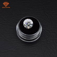 Wholesale Price 1ct 6.5mm Round Cut E F G H VVS Clarity Lab Grown Loose Moissanite Diamond Test Positive