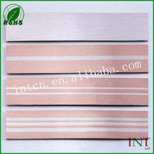 Stamping components silver inlaid copper bimetal strip