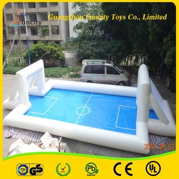 Wow!!!Newly Style Inflatable Football Palyground /Inflatable Soccer Field /Soccer Football Field For Sale