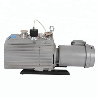 18 or 21.6 m3/h Rated airflow Double Stage Rotary Vane Vacuum Pump