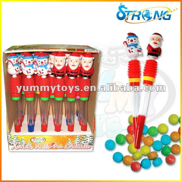 Christmas Pen Toy Candy