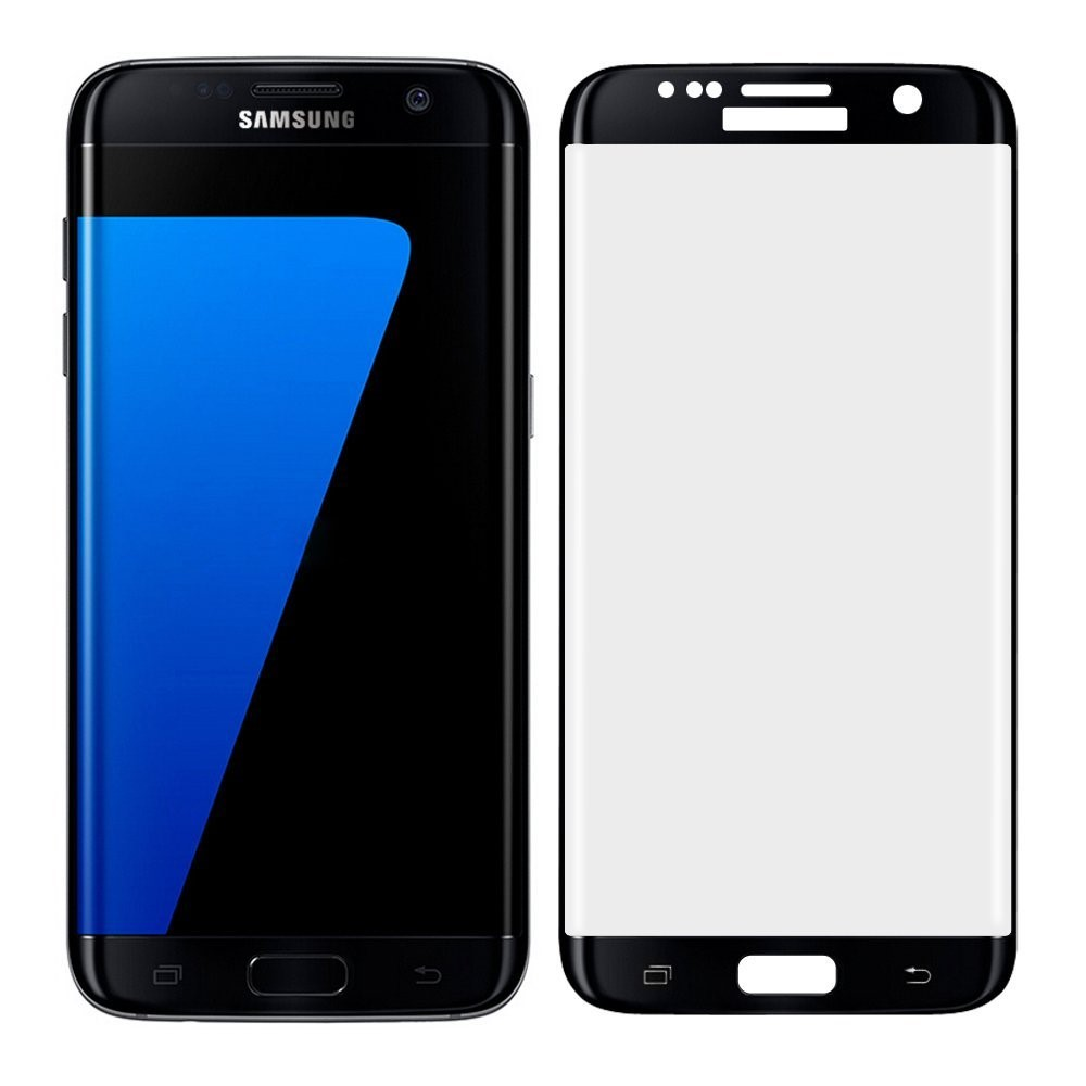 Korea mobile phone accessories 0.26mm thick full cover curved tempered glass for samsung galaxy s7 edge screen protector