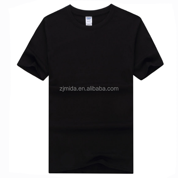 Mida Sublimation T-shirt 100% Cotton short sleeve blank T-shirt for Printing in stock