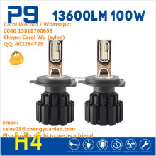 Breakthrough TOP 1 Shine P9 100W 13600lm hid headlight electric car conversion kit h11 led pk 6S L6 G5 G6 motorcycle accessories