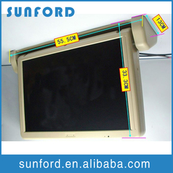 lcd advertising player/bus dvd player 24v/wifi advertising player