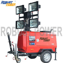 diesel telescopic light tower for sale