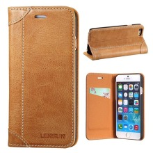 High Quality And Hot Sale Leather Mobile Phone Leather Case For iPhone And Samsung