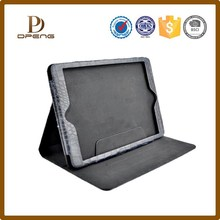 High quality crocodile grain leather kid proof rugged tablet case for 7 inch tablet