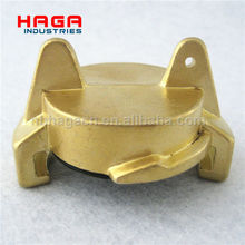 German Type Brass GEKA Coupling Blank Cap