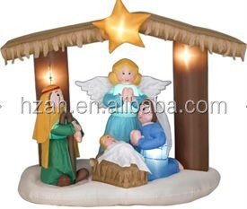 Inflatable Nativity Scene for Christmas Decor