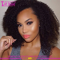 wholesale top quality unprocessed youtube sex afro kinky curly brazilian virgin hair extension human hair