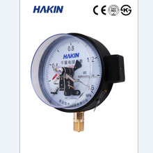 High quality Reed Switch Electric Contact Pressure Gauge for oxygen ammonia gas acetylene LPG
