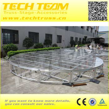 Outdoor stage platform material :acrylic