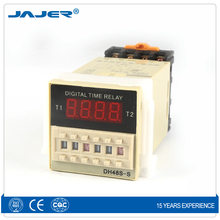 Jajer DH48S-S timer relay digital time delay relay 12V 110VAC