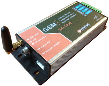 GSM Temperature & Humidity Recorder and Alarm device